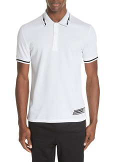 Givenchy Lightning Bolt Tipped Polo