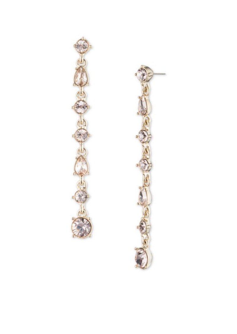 b662291d1aad Givenchy Givenchy Linear Stone Drop Earrings