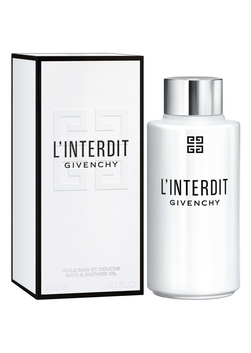 Givenchy L'Interdit Bath & Shower Oil