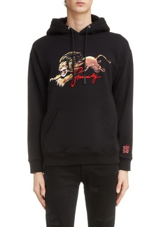 Givenchy Lion Graphic Hoodie