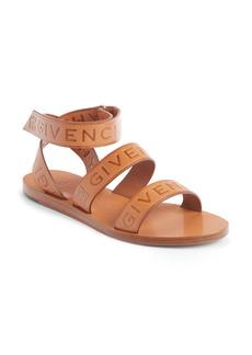 Givenchy Logo Ankle Strap Sandal (Women)