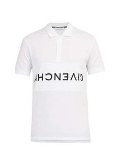 Givenchy Logo-embroidered cotton-piqué polo shirt