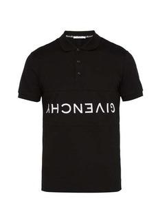 Givenchy Logo-embroidered cotton polo shirt