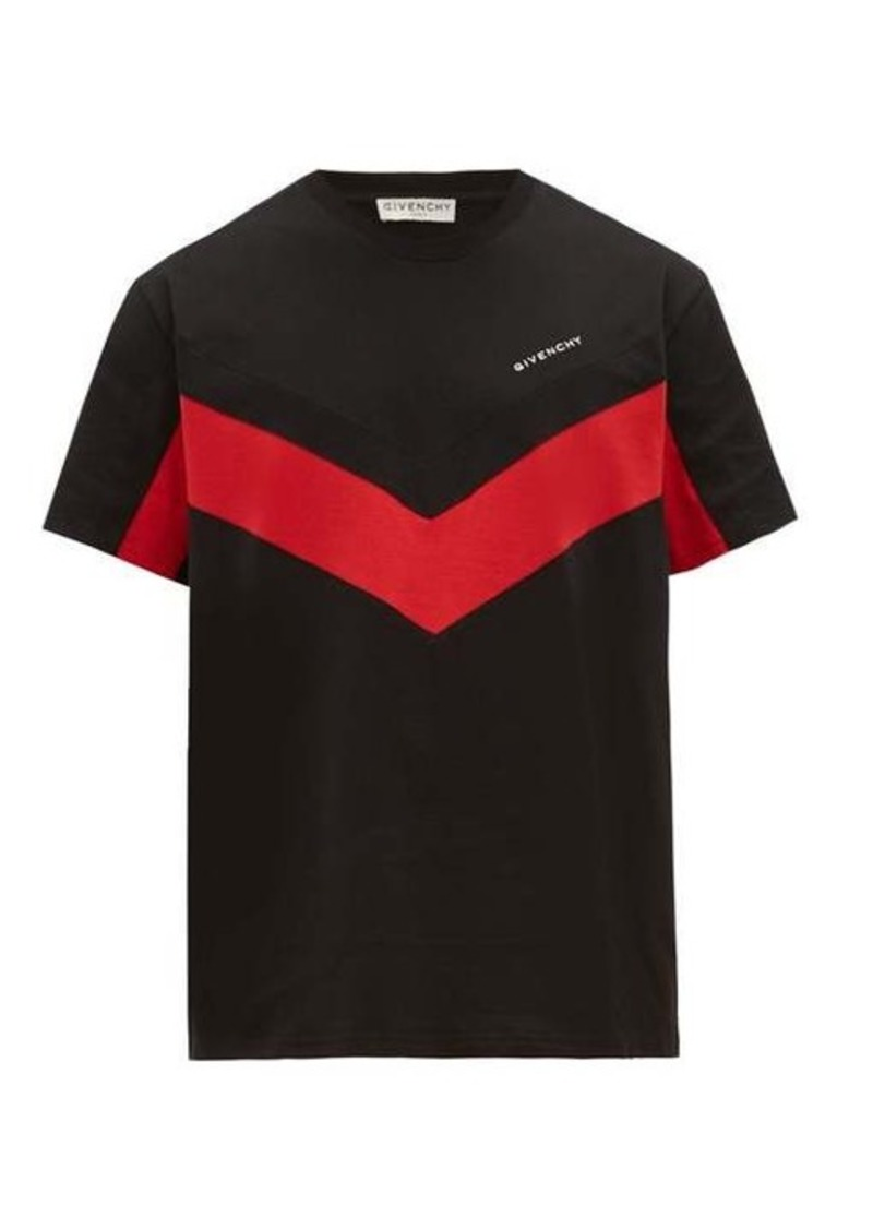 Givenchy Logo-embroidered cotton T-shirt