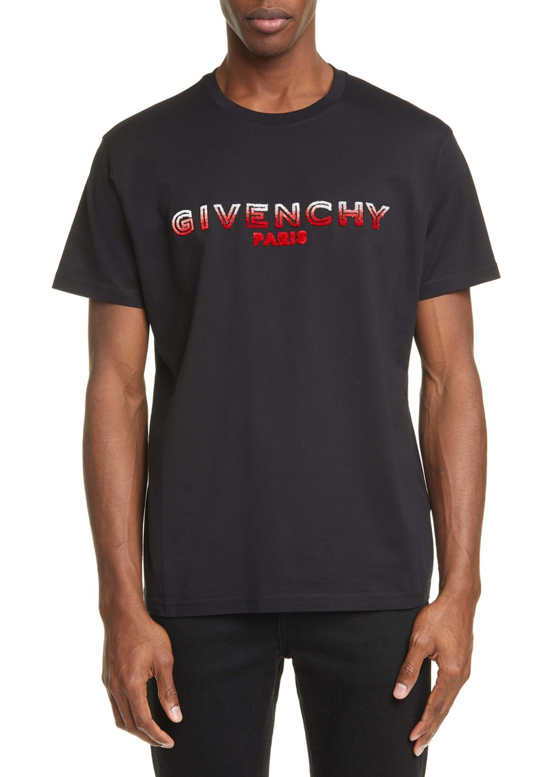 Givenchy Logo Embroidered T-Shirt