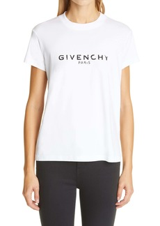 Givenchy Logo Graphic Cotton Tee