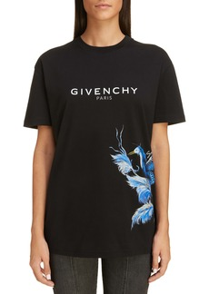 Givenchy Logo Graphic Crewneck Tee