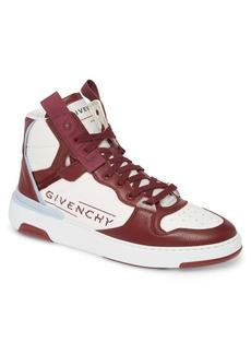 Givenchy Logo High Top Sneaker (Men)