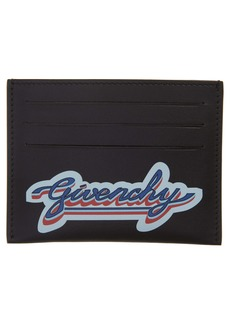 Givenchy Logo Leather Card Holder