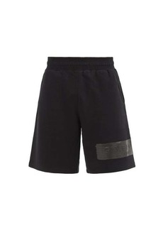 Givenchy Logo-patch cotton-jersey shorts
