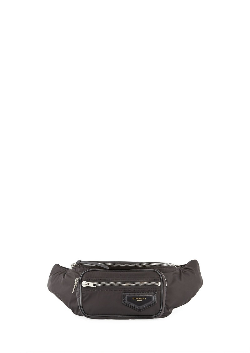 d06e1a2048a2 Givenchy Givenchy Logo-Patch Nylon Belt Bag