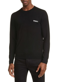 Givenchy Logo Patch Wool Sweater