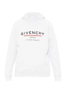 Givenchy Logo-print cotton hooded sweatshirt