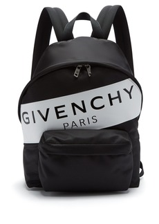 Givenchy Logo-print nylon backpack