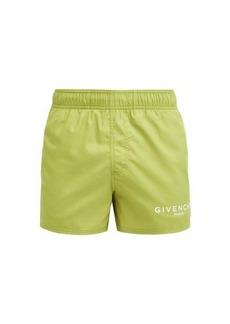 Givenchy Logo-printed swim shorts