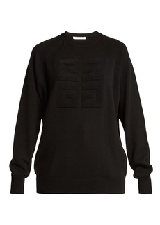 Givenchy Logo-stitched cashmere sweater