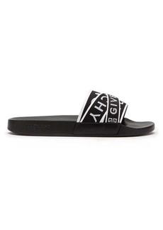 Givenchy Logo-strap rubber slides