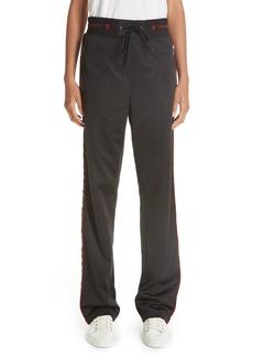 Givenchy Logo Waist Neoprene Track Pants