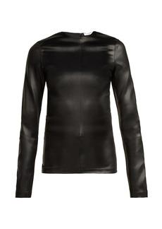 Givenchy Long-sleeved satin top