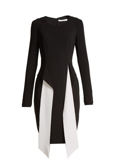 Givenchy Long-sleeved stretch-crepe dress