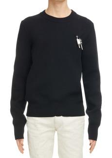 Givenchy Love Lock Crewneck Sweater