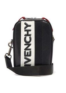 Givenchy MC3 logo-appliqué leather cross-body bag