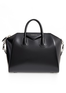 Givenchy Medium Antigona Box Leather Satchel