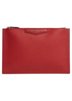 Givenchy Medium Antigona Leather Pouch