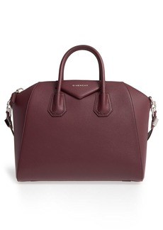 Givenchy 'Medium Antigona' Sugar Leather Satchel