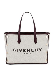 Givenchy Medium Bond Canvas & Leather Tote