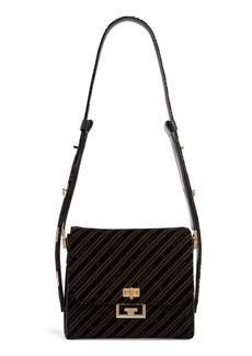 Givenchy Medium Eden Burnout Velvet Shoulder Bag