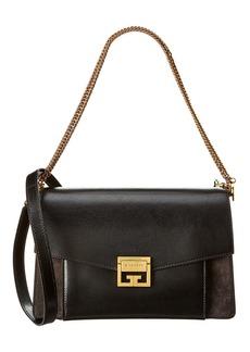 Givenchy Medium Gv3 Leather & Suede Shoulder Bag