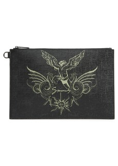 Givenchy Medium Icarus Faux Leather Pouch