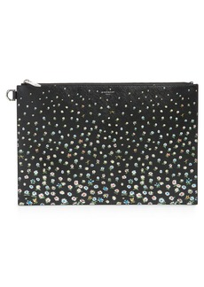 Givenchy Medium Iconic Coated Canvas Pouch