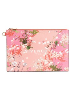 Givenchy Medium Iconic Prints Coated Canvas Pouch