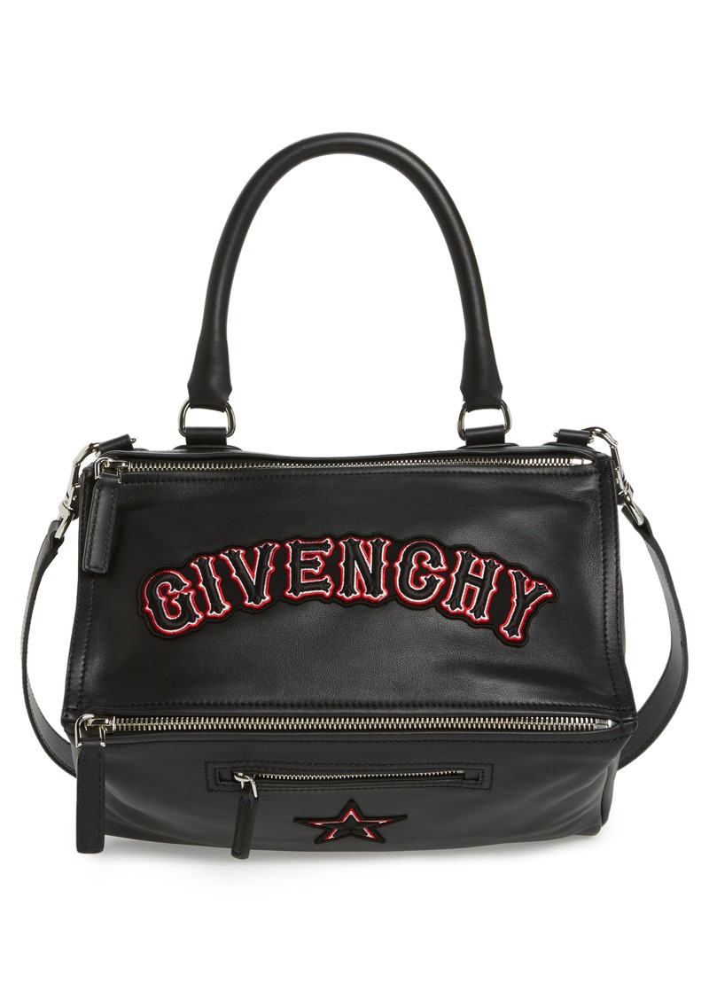 3b623d684558 Givenchy Givenchy Medium Pandora Gothic Patch Satchel