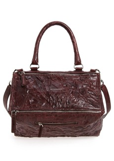 Givenchy 'Medium Pepe Pandora' Leather Satchel