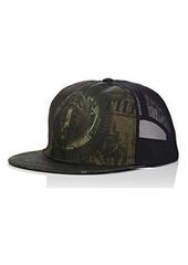 Givenchy Men's Abstract-Dollar-Bill-Print Trucker Hat