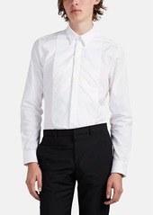 Givenchy Men's Bib-Front Cotton Tuxedo Shirt