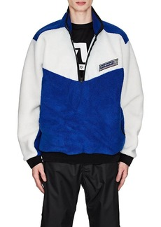 Givenchy Men's Colorblocked Fleece Sweater