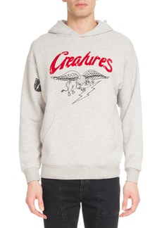 Givenchy Men's Creatures Graphic Cotton Hoodie Sweatshirt