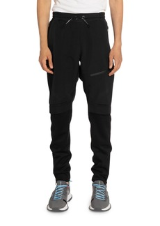 Givenchy Men's Double-Layer Short Jogger Pants