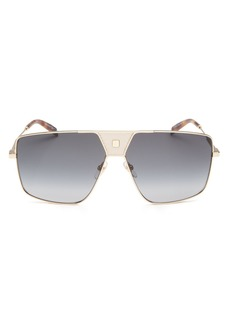 Givenchy Men's Flat Top Square Sunglasses, 63mm