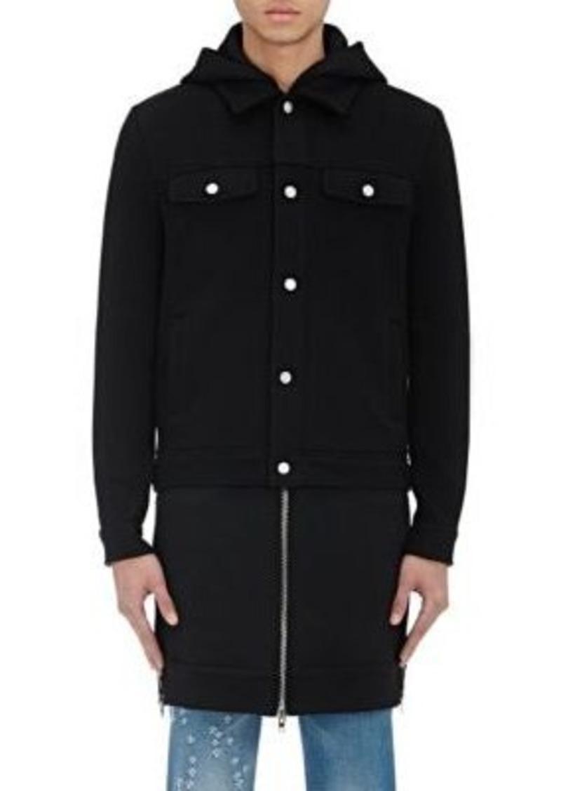 Givenchy Men's Layered Hooded Jacket
