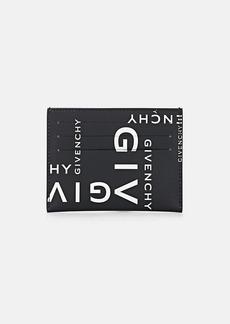 Givenchy Men's Leather Card Case - Wht.&blk.