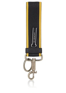 Givenchy Men's Leather Key Ring - Black