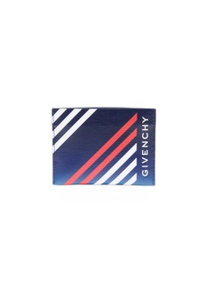 Givenchy Men's Lines Print Card Case