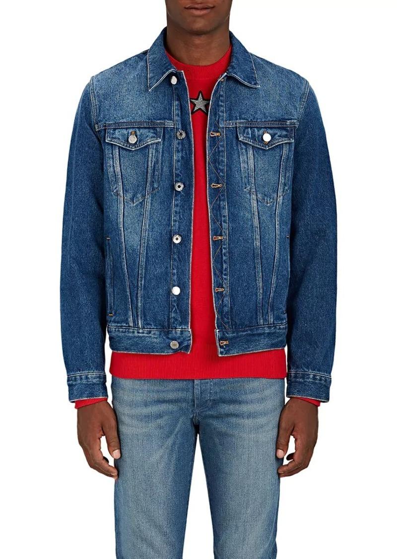 3af449df6baa Givenchy Givenchy Men s Logo-Print Denim Jacket