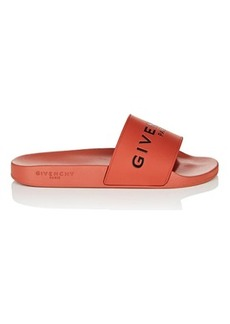 Givenchy Men's Logo Rubber Slide Sandals