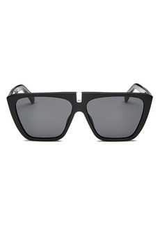 Givenchy Men's Mirrored Flat Top Square Sunglasses, 58mm